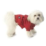 View Image 1 of Barkley's Cozy Dog Sweatshirt - Red