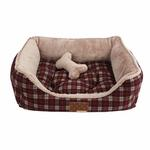 Barron House Dog Bed by Puppia - Wine