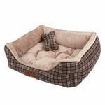 View Image 3 of Barron House Dog Bed by Puppia  - Gray