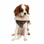 View Image 1 of Barron Winter Dog Jacket by Puppia - Gray
