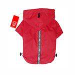 View Image 1 of Base Jumper Raincoat Wind Breaker by Puppia - Red