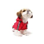 View Image 2 of Base Jumper Raincoat Wind Breaker by Puppia - Red