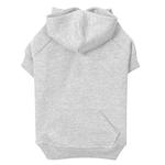 View Image 1 of Basic Dog Hoodie - Heather Gray