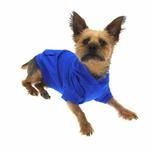 View Image 5 of Basic Dog Hoodie - Nautical Blue