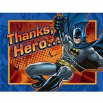 Batman Party Supplies - Postcard Thank You Notes