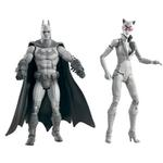 Batman Toys - Arkham City Batman and Catwoman B/W 2-Pack