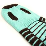 View Image 3 of Bear Sweater Dog Jumper by Dogo - Blue