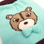 View Image 4 of Bear Sweater Dog Jumper by Dogo - Blue