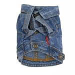 View Image 4 of Betty Boop Denim Stonewashed Dog Jacket