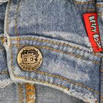 View Image 2 of Betty Boop Denim Stonewashed Dog Jacket