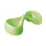 View Image 1 of Bicio Double Pet Bowl - Green