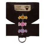 View Image 1 of Black Candy Dog Harness by Susan Lanci