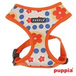 View Image 1 of Blossom Dog Harness by Puppia - Orange