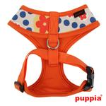 View Image 2 of Blossom Dog Harness by Puppia - Orange