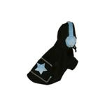 View Image 1 of Blue Star Earmuff Hoodie by Hip Doggie
