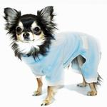View Image 1 of Blue Tux Dog Jumper Pajamas by Hip Doggie