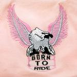 View Image 2 of Born to Ride Eagle Tank Top - Pink