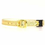 View Image 2 of Breakaway Crystal Cat Collar - Gold