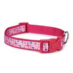 View Image 1 of Butterfly Garden Dog Collar - Pink