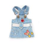 View Image 1 of Butterfly Zoey Denim Dog Dress
