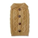 View Image 2 of Button Cable Sweater by Dogo - Beige