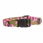 View Image 2 of Guardian Gear Camo Dog Collar - Pink & Green