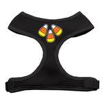 View Image 1 of Candy Corn Halloween Dog Harness - Black