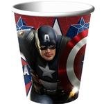 Captain America Party Supplies - 9oz Party Cups