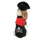 View Image 3 of Caribbean Pirate Dog Costume