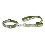 View Image 2 of Carolina Collection Dog Leash - Green