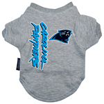 Carolina Panthers Dog T-Shirt