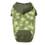 View Image 2 of Carolina Pullover Dog Hoodie - Green