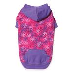 View Image 2 of Carolina Pullover Dog Hoodie - Raspberry