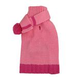 View Image 1 of Cashmere Scarf Sweater by Dogo - Pink