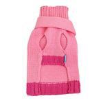 View Image 2 of Cashmere Scarf Sweater by Dogo - Pink