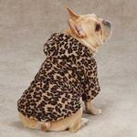 View Image 2 of Casual Canine Animal Print Dog Cuddler - Leopard
