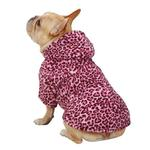 View Image 2 of Casual Canine Animal Print Dog Cuddler - Pink Leopard
