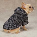 View Image 1 of Casual Canine Animal Print Dog Cuddler - Zebra