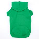 View Image 1 of Casual Canine Basic Dog Hoodie - Green