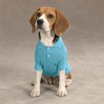 View Image 1 of Casual Canine Basic Polo Dog Shirt - Air Blue