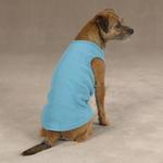 View Image 2 of Casual Canine Basic Ribbed Dog Tank Top - Air Blue