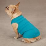 View Image 1 of Casual Canine Basic Ribbed Dog Tank Top - Bluebird
