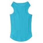 View Image 2 of Casual Canine Basic Ribbed Dog Tank Top - Bluebird