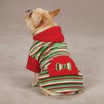 View Image 1 of Casual Canine Christmas Fleece Dog Hoodie