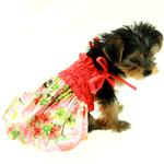 View Image 3 of Casual Canine Hawaiian Breeze Dog Dress