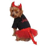 View Image 2 of Casual Canine Lil Devil Dog Skirt Set