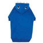View Image 1 of Casual Canine Lil' Monster Dog Hoodie - Blue