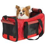 View Image 1 of Casual Canine Pet Duffle Bag - Red