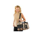 View Image 1 of Casual Canine Pet Duffle Bag - Tan