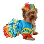 View Image 1 of Polly Parrot Halloween Dog Costume